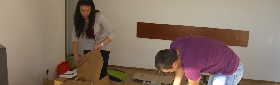 Belgrad Teil 2 / Office aufbauen